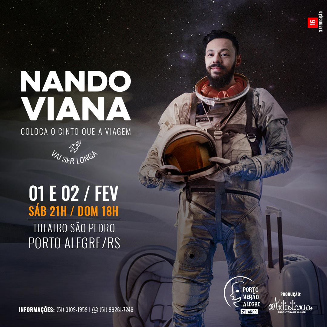 Nando Viana no Porto Verão Alegre 2020