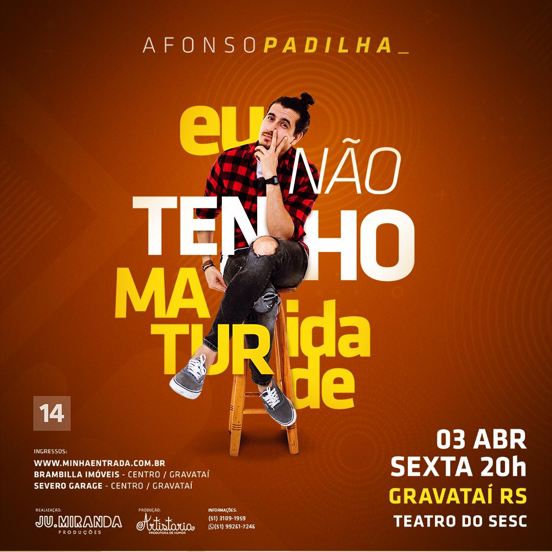 Afonso Padilha em Gravataí/RS